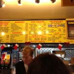 The Menu (Zorba's Texas Hots)