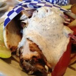 Chicken Gyro (Zoe' Restaurant)