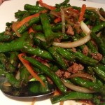 Sauteed String Beans (Wok & Roll)