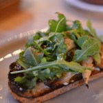 Wood-Roasted Wild Mushrooms Tartine