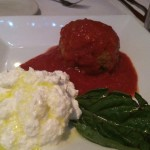 Meatball and Ricotta