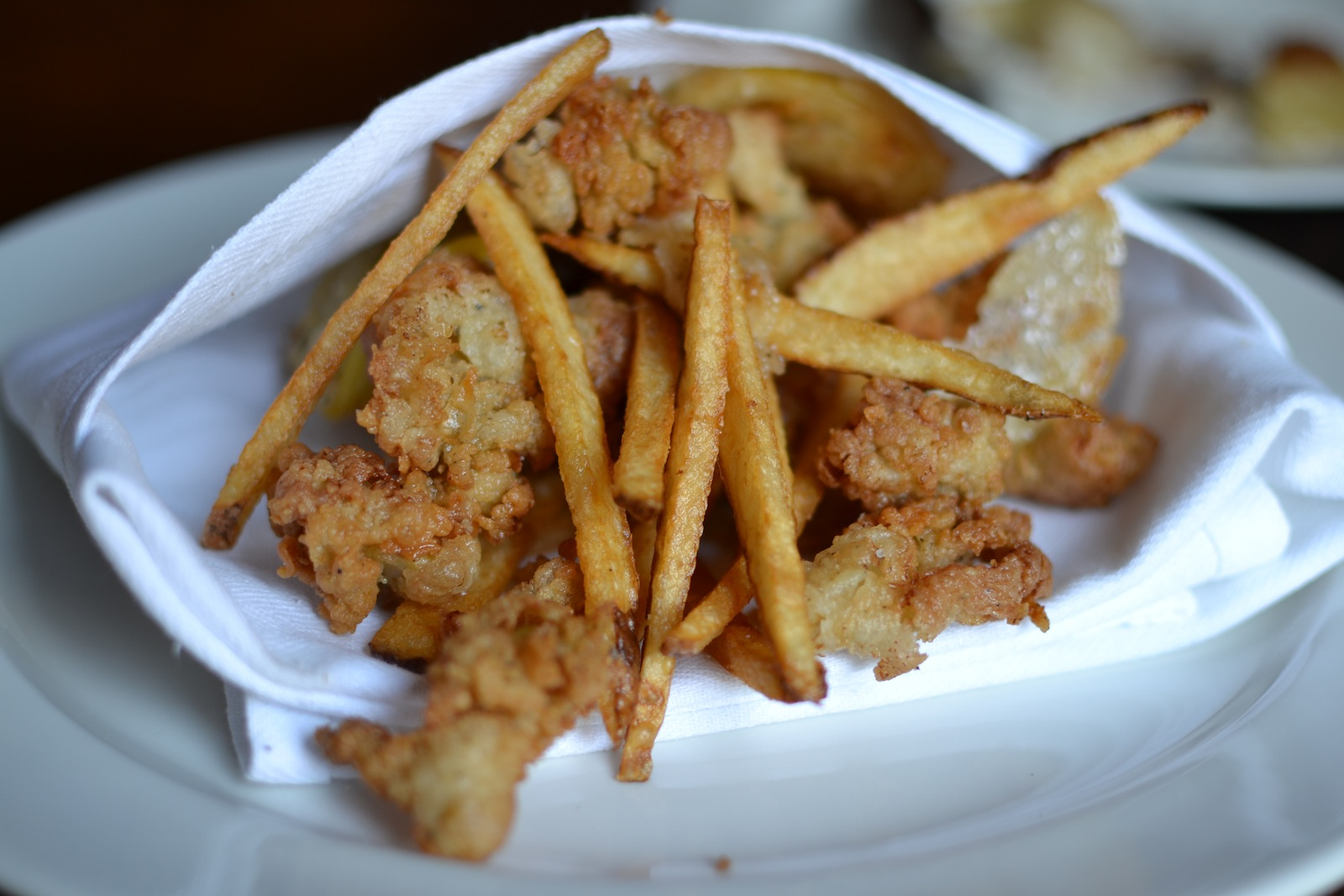 Fried Belly Clams