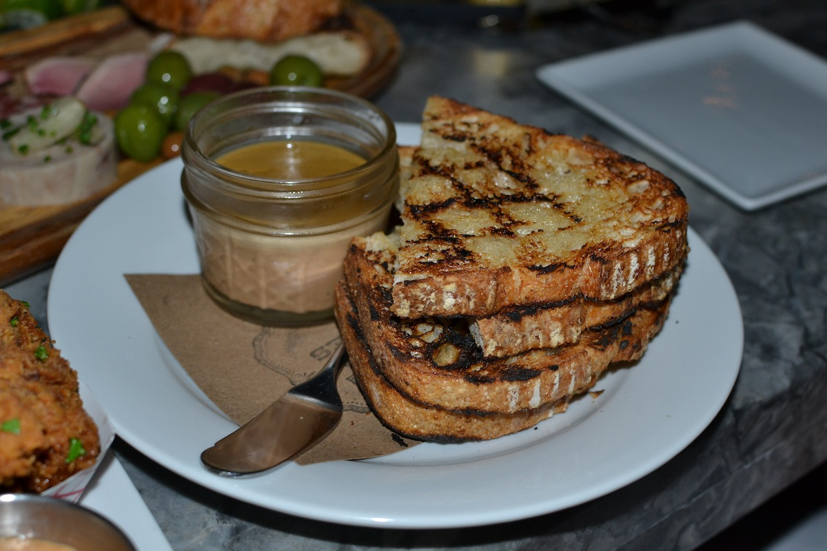 Duck Liver Pate at Meat and Potatoes