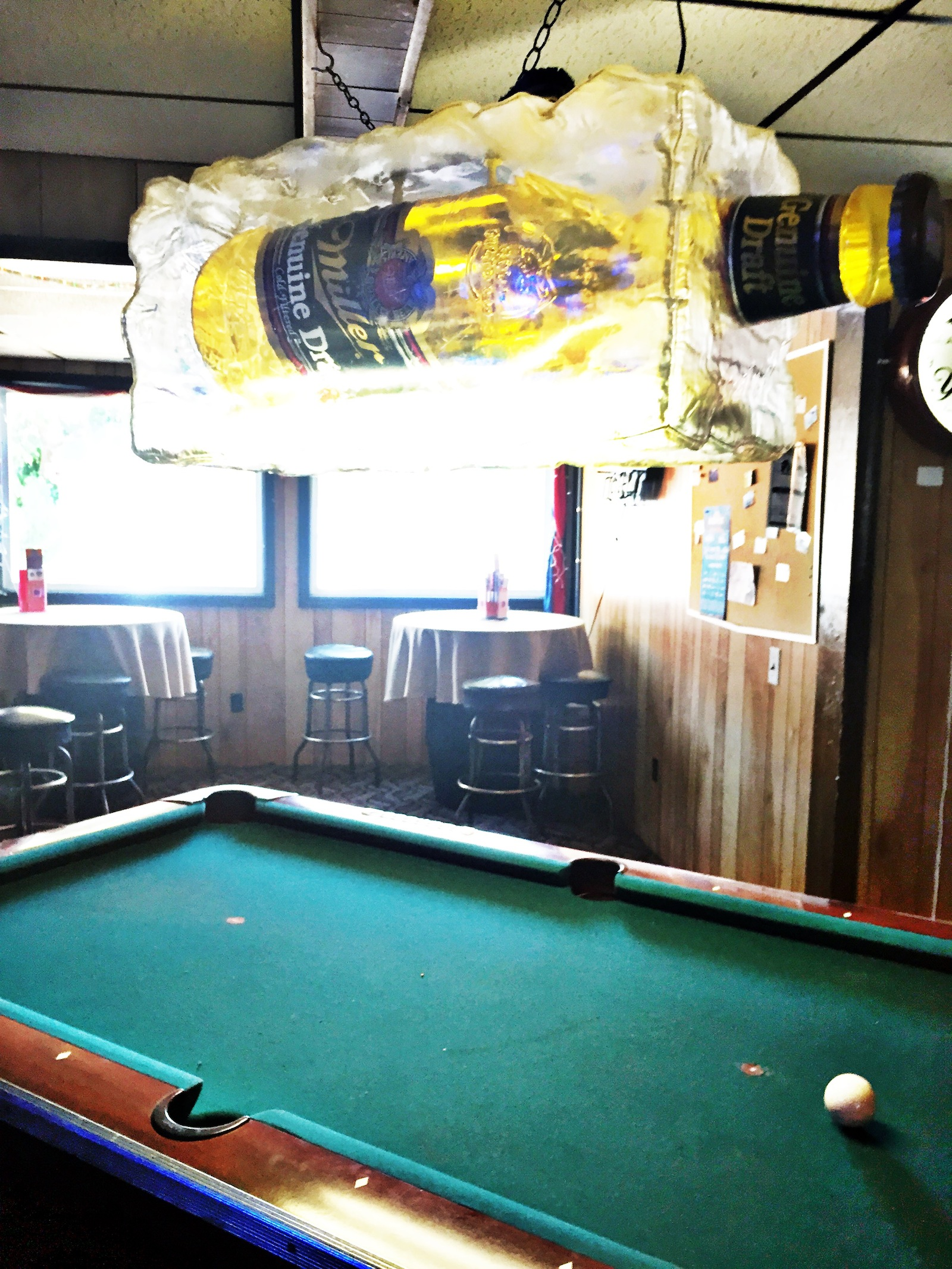 The Pool Table (Betty's Grill)
