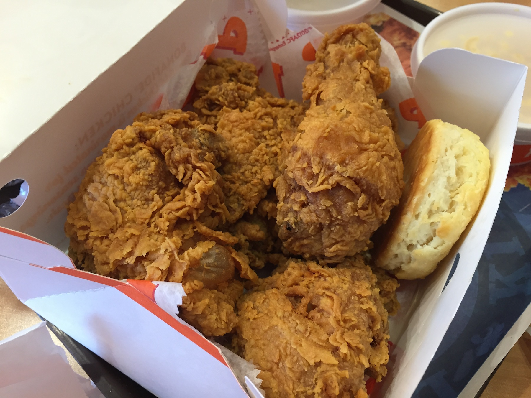 4 piece Chicken (Popeyes)
