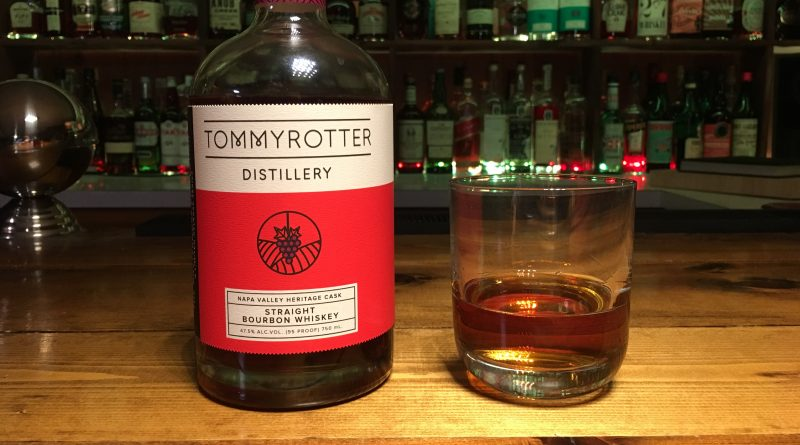 Review: Tommyrotter's Napa Valley Heritage Cask Straight Bourbon Whiskey